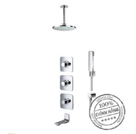Bộ sen tắm nhiệt độ âm tường Toto DB130-1C